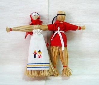 Мастер-класс  - Лыковая кукла-