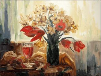 18 и 19 марта состоится девятый мастер-класс по живописи для взрослых!